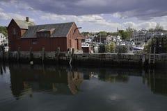 Bord de mer de Rockport le Massachusetts images stock
