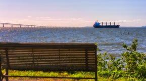 Bord de mer scénique du ` s d'Astoria photographie stock