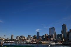 Bord de mer Seattle Images libres de droits