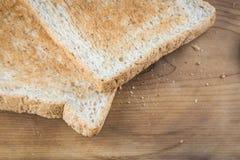 Bord de pain grillé Photos stock