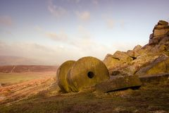 Bord de Stanage, secteur maximal, R-U Images stock