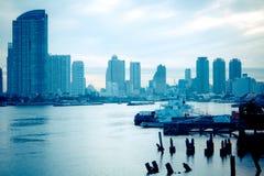 Bord du quai Photo libre de droits