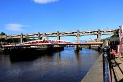 Bord du quai de Tyneside photographie stock