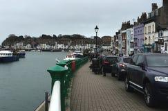 Bord du quai de Weymouth Photos stock
