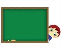 Bord en leerling stock illustratie