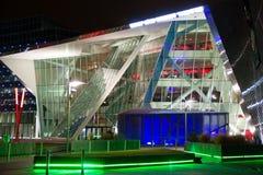 Bord Gais Energy Theater. Dublin. Ireland. Bord Gais Energy Theater at night, Dublin. Ireland Stock Photography