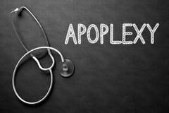 Bord met Apoplexie 3D Illustratie Royalty-vrije Stock Fotografie