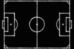 Bord met een Voetbalgebied vector illustratie