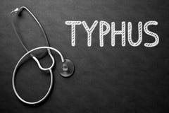 Bord met Typhus 3D Illustratie Royalty-vrije Stock Fotografie