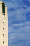 Bord moderne de ciel de droite de construction Photo libre de droits