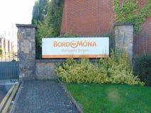 Bord Na Mona Signage Lizenzfreie Stockfotos