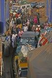 An Bord von der Fähre erhalten, Gambia Stockbild