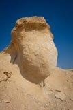 Borda com globo embaixo no deserto Imagens de Stock