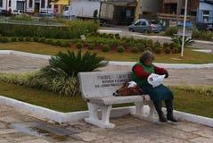 Borda da末多米纳斯吉拉斯州巴西 图库摄影