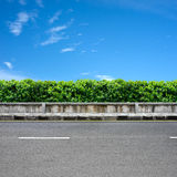 Borda da estrada e pavimento Foto de Stock Royalty Free
