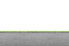 Borda da estrada no branco Imagem de Stock Royalty Free