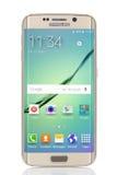 Borda da galáxia S6 de Samsung Imagens de Stock Royalty Free