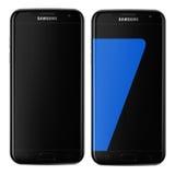 Borda da galáxia s7 de Samsung Imagem de Stock Royalty Free