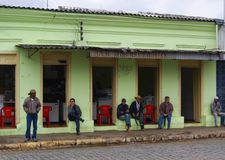 Borda DA Mata Minas Gerais στοκ φωτογραφία με δικαίωμα ελεύθερης χρήσης