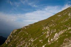 Borda da montanha Fotografia de Stock Royalty Free