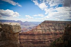 Borda de Grand Canyon Imagem de Stock Royalty Free