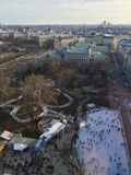 Borda de patinagem de Viena de cima de Imagem de Stock Royalty Free