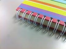 Borda do caderno Fotografia de Stock