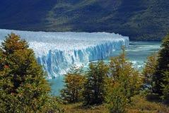 Borda do Perito Moreno Glacier, Patagonia Fotografia de Stock Royalty Free