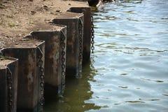 Borda do rio imagem de stock
