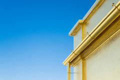 Borda do telhado de uma casa Imagem de Stock