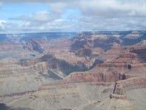 Borda sul da opinião de Grand Canyon Foto de Stock Royalty Free