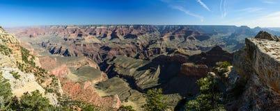 Borda sul do Grand Canyon no Arizona Foto de Stock