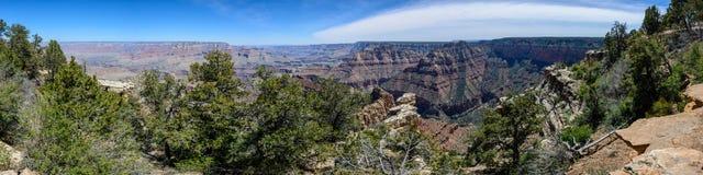 Borda sul do Grand Canyon no Arizona Fotos de Stock Royalty Free