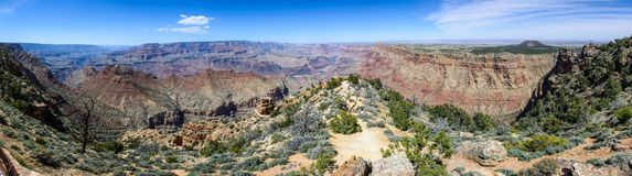 Borda sul do Grand Canyon no Arizona Fotografia de Stock