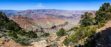 Borda sul do Grand Canyon no Arizona Imagens de Stock