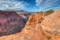 Borda-Toroweep nacional do parque-n da garganta AZ-grande Fotografia de Stock Royalty Free