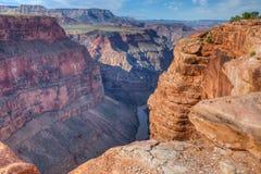 Borda-Toroweep nacional do parque-n da garganta AZ-grande Fotografia de Stock
