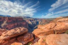 Borda-Toroweep nacional do parque-n da garganta AZ-grande Foto de Stock