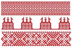 Bordado del ruso de la iglesia Fotos de archivo