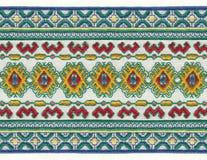 Bordado nacional ruso Imagen de archivo libre de regalías
