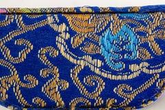 Bordado oriental colorido Foto de archivo libre de regalías