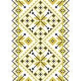 bordado Ornamento nacional ucraniano Foto de archivo libre de regalías
