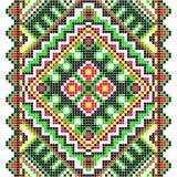 bordado Ornamento nacional ucraniano Fotografía de archivo libre de regalías