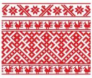 Bordado ruso Imágenes de archivo libres de regalías