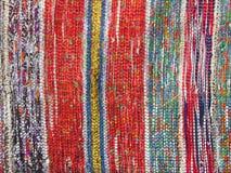 Bordado ucraniano tradicional en la alfombra Fotos de archivo