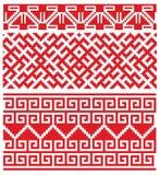 Bordado viejo ruso ilustración del vector