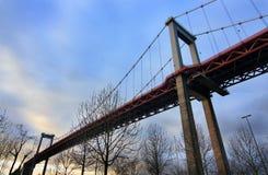 Bordaeux-Brücke Stockfotos