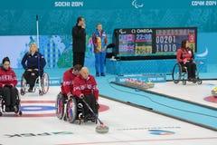Bordage de fauteuil roulant Image libre de droits