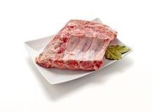 Bordas da carne de porco Fotografia de Stock Royalty Free