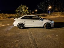 Bordas do dorminhoco rs6 do sedan 4cyl de Audi a3 8v Imagens de Stock Royalty Free